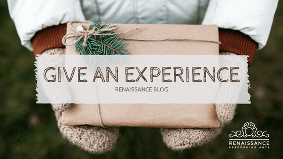 Give an Experience