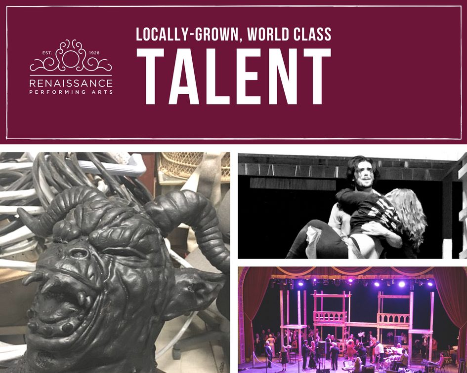 locally grown world class talent renaissance theatre hunchback of notre dame