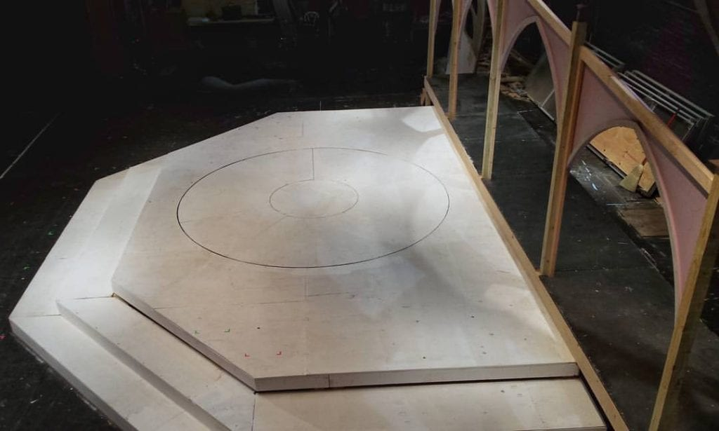 View from above: The Revolving Stage