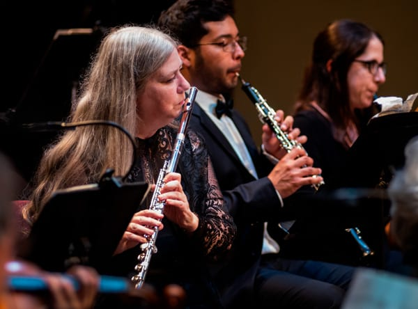 The Woodwind Section of the orchestra must be a team. Each part is separate from the other and so it is important for those parts to work as one.