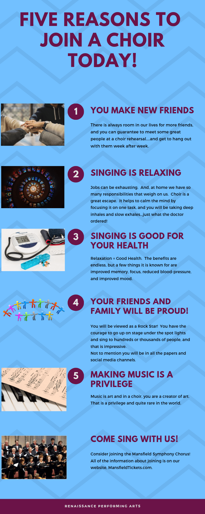 FIVE REASONS TO JOIN A CHOIR TODAY!