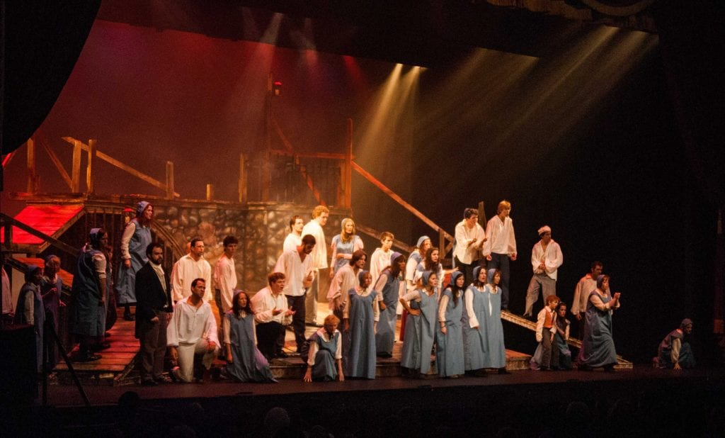 Les Miserables, Photo by Jeff Sprang 2014