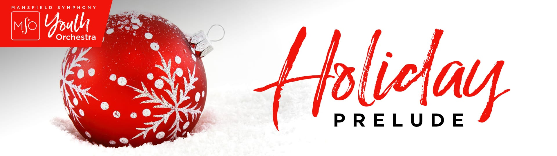 Holiday Prelude Banner